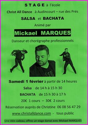 MARQUES Mickael stage salsa bachata